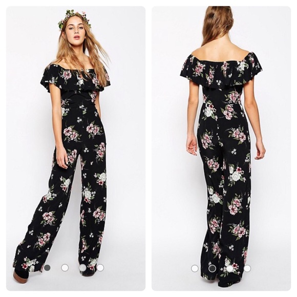 42f1435b60e4 ASOS Pants - ASOS TALL floral boho jumpsuit